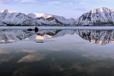 ...озеро...