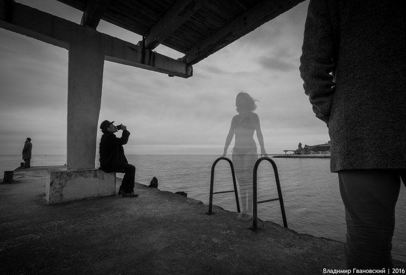 Крымские Призраки. Зимний Пляжphoto preview
