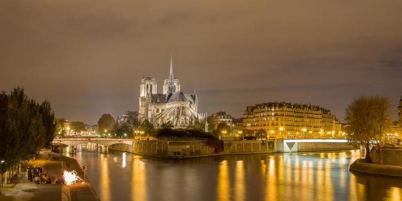 Paris, France Notre-Damephoto preview
