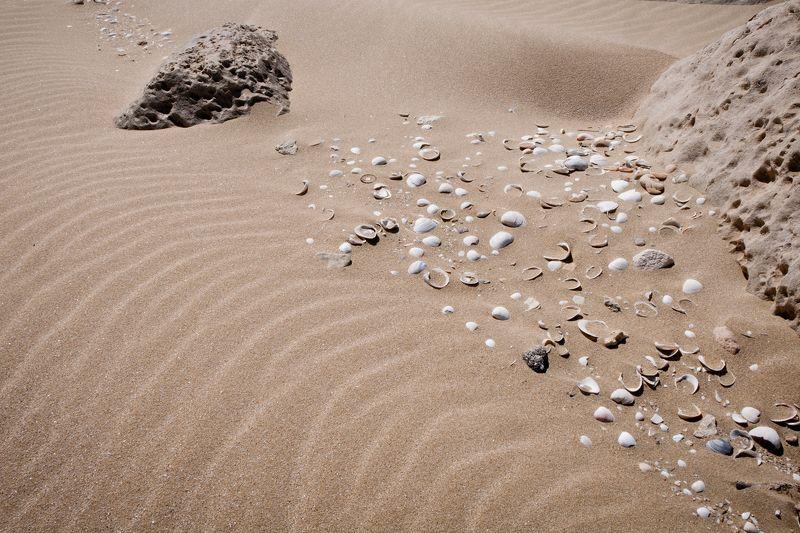 Песок Каспийского моря.photo preview