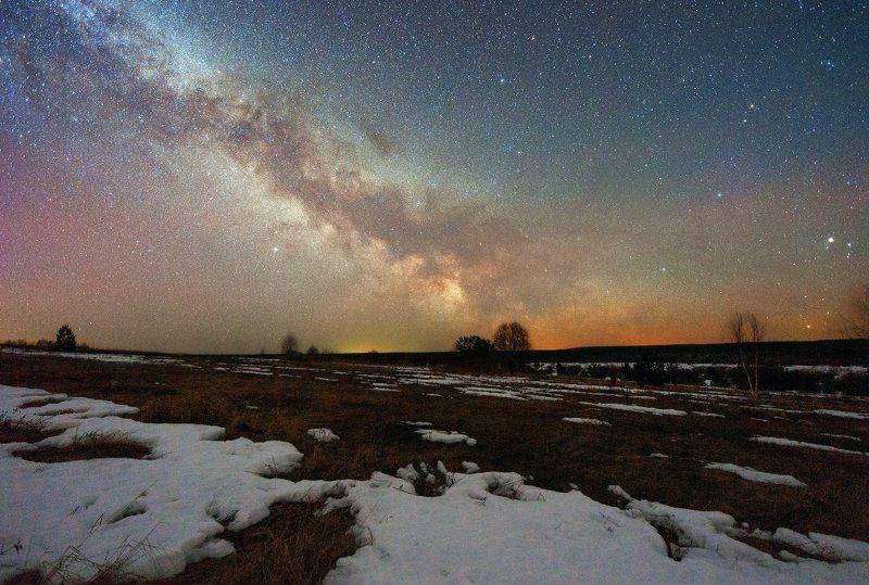 2015, альтаир, антарес, вега, денеб, космос, млечный путь, сатурн, скорпион Млечный путь в Костроме IIphoto preview