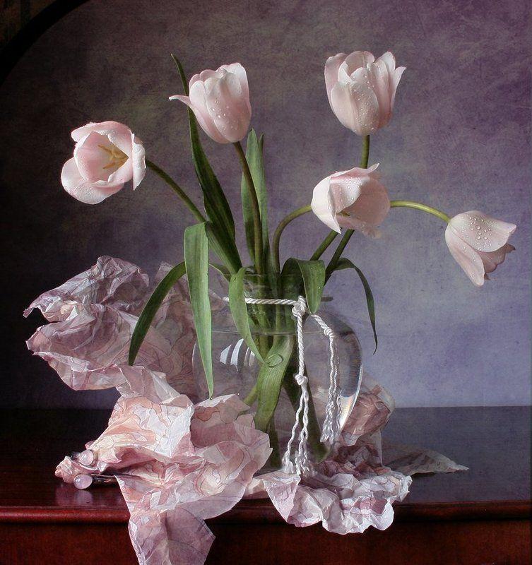 Весна, Натюрморт, Тюльпаны, Фотонатюрморт photo preview