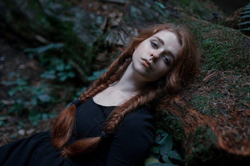 девушка, лес, портрет, sony alpha, a900, 50mm, portrait, popular, beautiful Mashaphoto preview