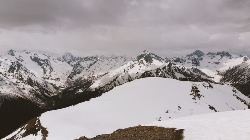 горы, домбай, карачаево-черкесская республика Dombaiphoto preview