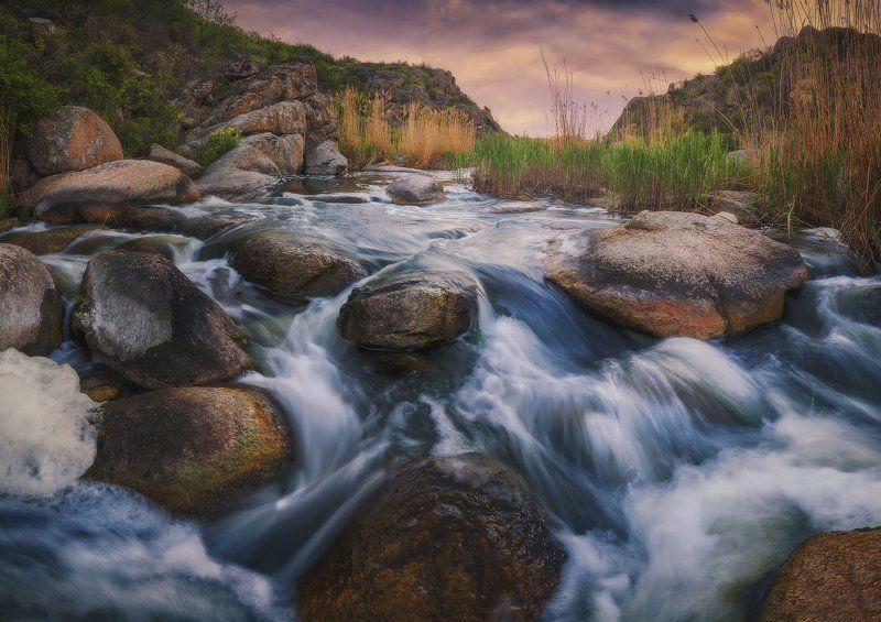 Утро в Актовском каньонеphoto preview