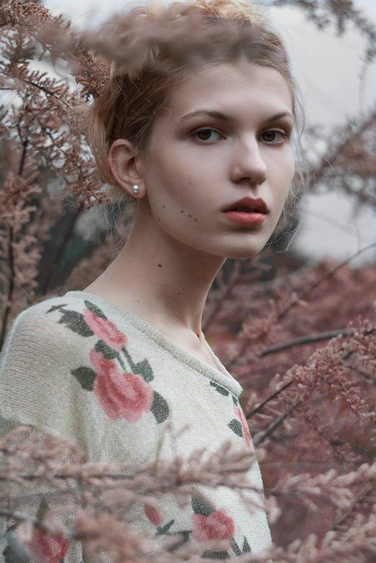 portrait, girl, spring, beauty, pink, flowers, blonde, девушка, портрет, блондинка, весна, цветы Spring Melodyphoto preview