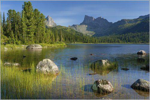Ергаки - Озеро Светлое.