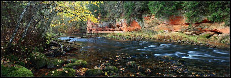 Река красных скал. Осеньphoto preview