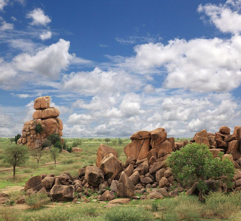 горы,валуны,камни,пейзаж,африка,судан,небо #12photo preview