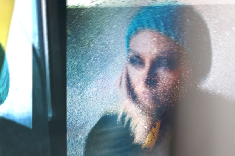 collage, blue, woman, abstract The Soul Exposures Xphoto preview