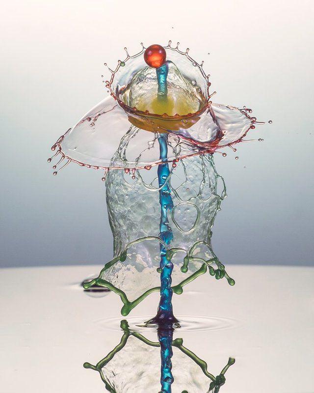 waterdrop,drops,splash,abstract,liquid,art colorfullphoto preview