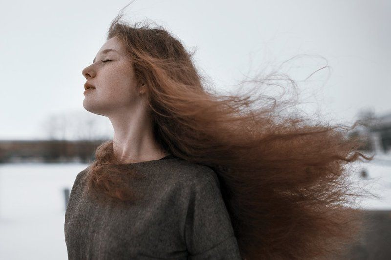 девушка, волосы, рыжая, веснушки, портрет, sony alpha, portrait, girl, ginger Левphoto preview