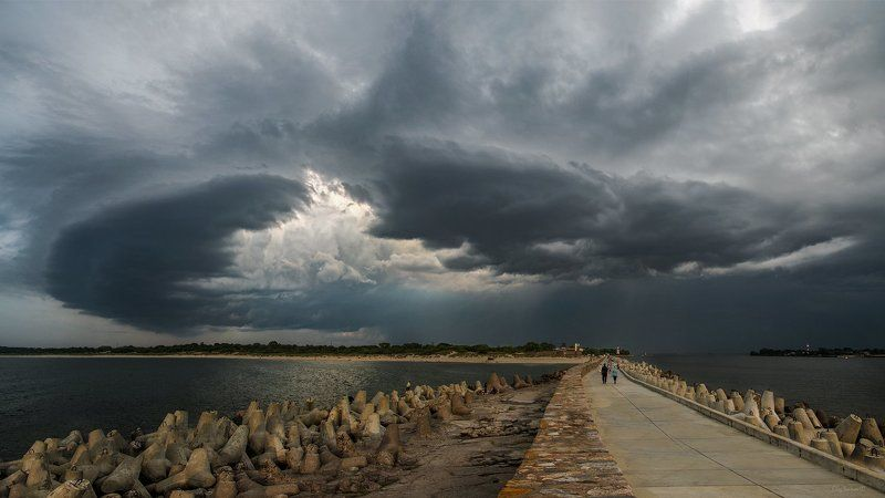 Балтийское море, Балтика, Ветер, Шквал Шквал с востокаphoto preview