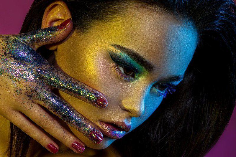 beauty, beautyshoot, colors, face, fashion, fashion photography, makeup, model, арт, артмейкап, блеск, брюнетка, бьюти, девушка, лицо, мейкап, модель, портрет, портрет двушки, портфолио, радуга, свет, фотограф, фотография, цвет, ретушь rainbowphoto preview