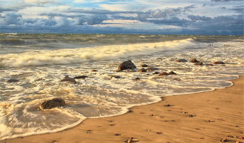 Прибой. Балтика.photo preview