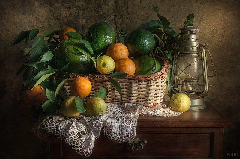 Paltas, naranjas y limonesphoto preview