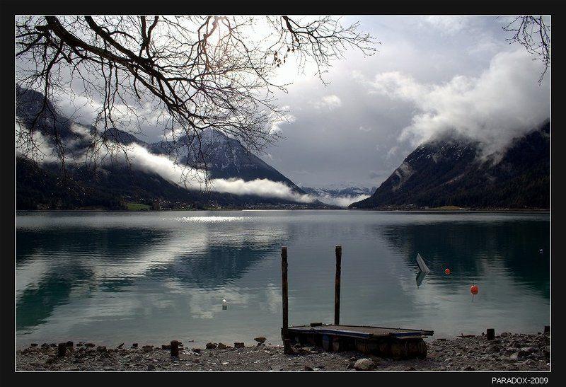 австрия, тироль, achensee, pertisau, tirol, туманы, облака, paradox Все куда-то спешу за туманамиphoto preview