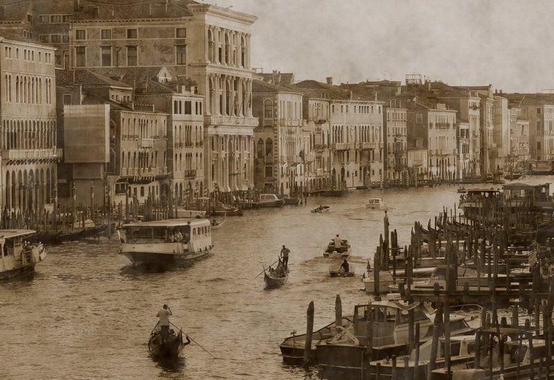 венеция, риальто вечером..photo preview