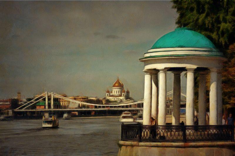 храм,река, -photo preview