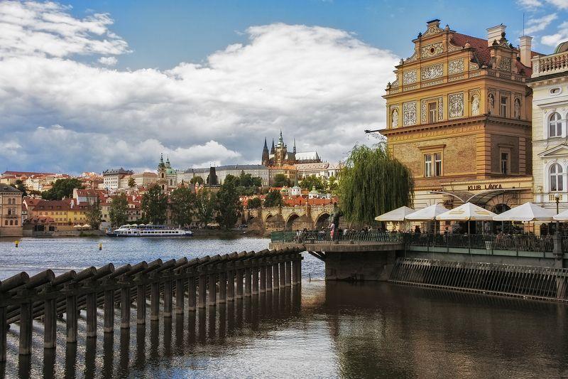 City, Prague, River Praguephoto preview