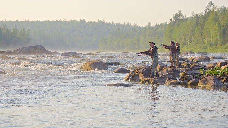 Река Утро на таёжной речкеphoto preview