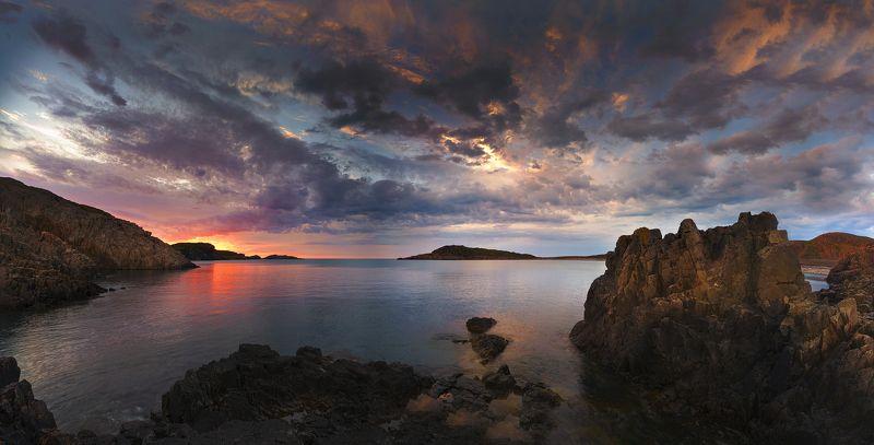 баоенцево море, закат Quiet Eveningphoto preview