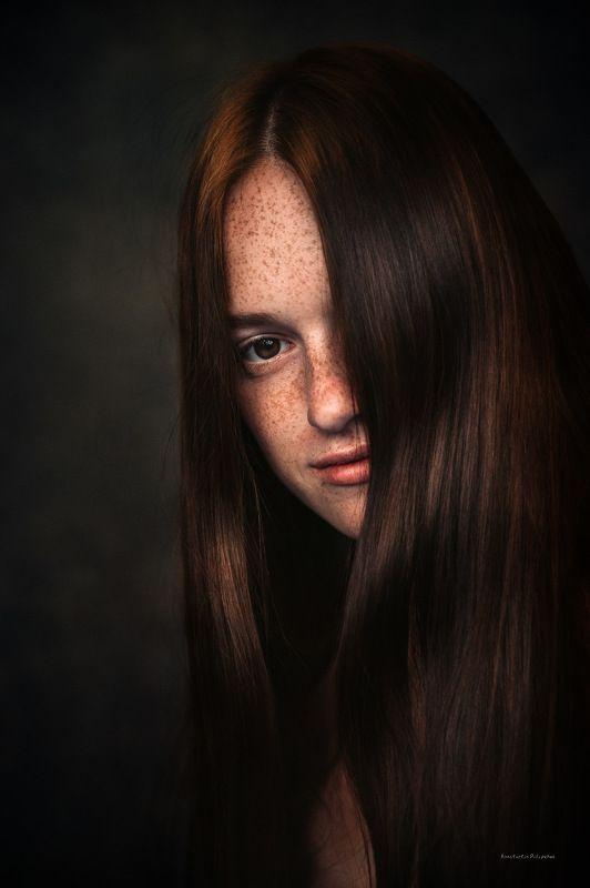 девушка, Рыжая, веснушки Катеринаphoto preview