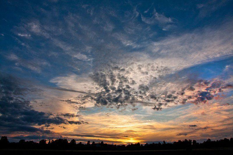 небо, облака, свет, закаты, рассветы, Волга Закаты, рассветы...photo preview