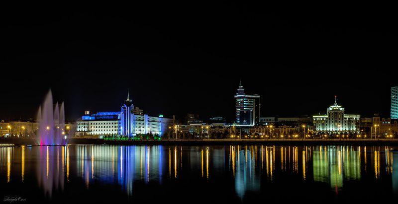 архитектура, город, казань, ночной город Ночная Казаньphoto preview