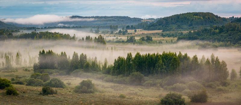 Утро туманное.photo preview