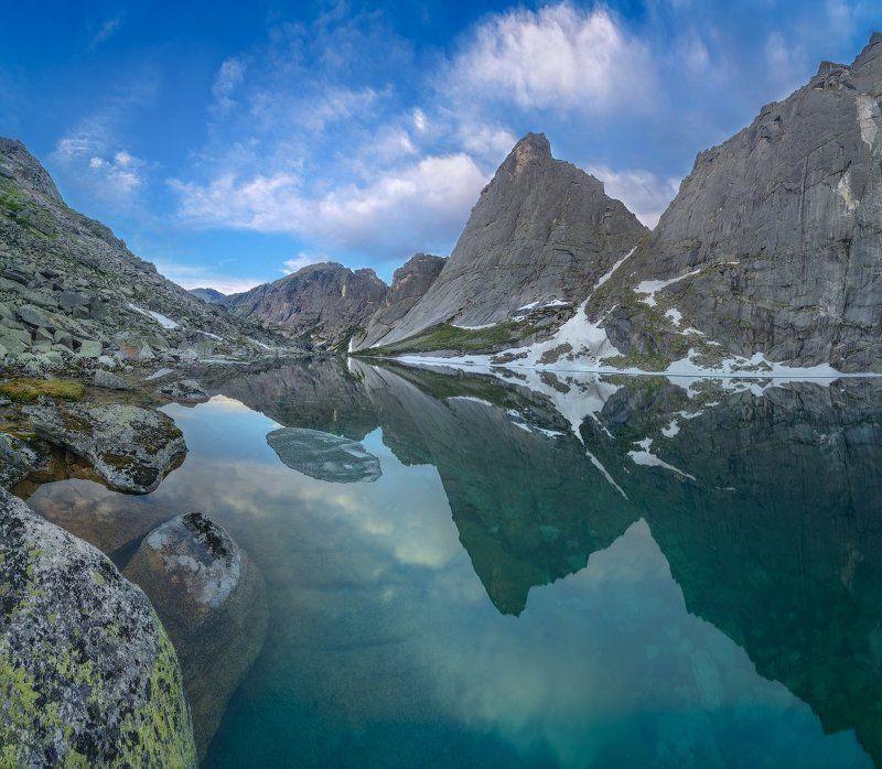 ергаки, ледяное, парус Ледяное озероphoto preview
