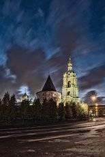 Новоспасский монастырь.