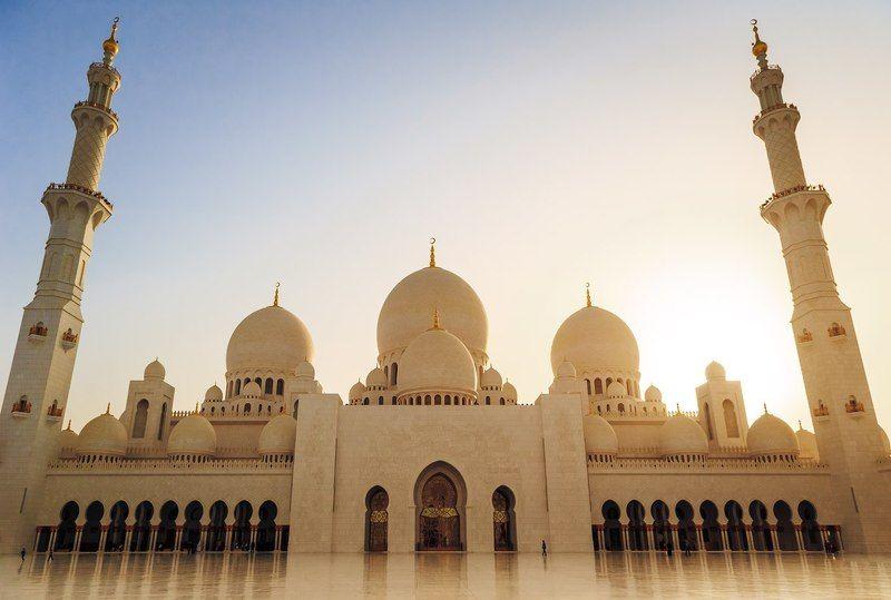Beautiful, Color, Dubai, Journey, Landscape, Light, Nikon, Travel Мечеть шейха Зайдаphoto preview