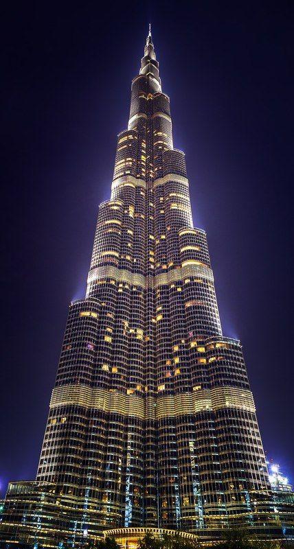 Architecture, City, Color, Dubai, Light, Night, Uae Burj Khalifaphoto preview