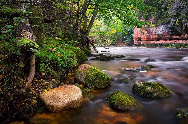 Река красных скалphoto preview