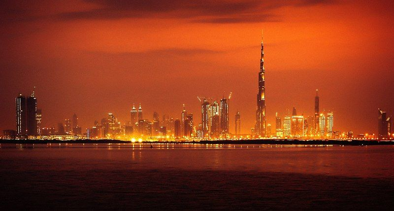 architecture, city, color, dubai, landscape, life, light, nature, nikon, travel Закат Дубаяphoto preview