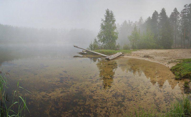 В туманах лесного озераphoto preview
