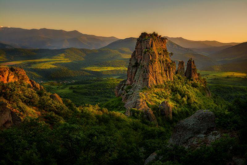 Land, Sunset, Wonder, Wonderland, Горы, Даль, Дикая природа, Закат, Пейзаж, Скалы, Солнце Wonderlandphoto preview