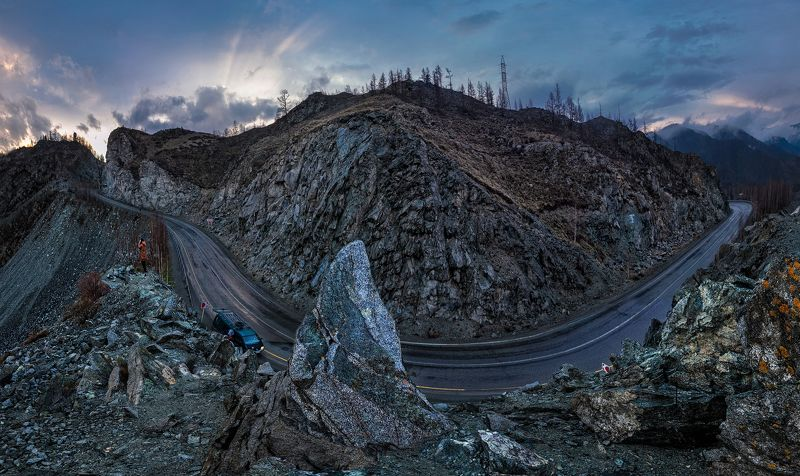 Перевал Чике Таман. Горный Алтайphoto preview