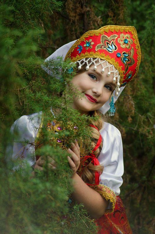 солнце, лето, лес, поле, дети, русское народное, культура, история, сказка, романтика, улыбка, радость Лизаphoto preview