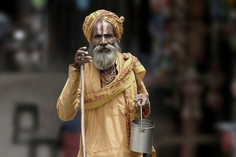 portrait, old, man, sadhu, people, kathmandu, nepal, street portrait,oren s ***photo preview