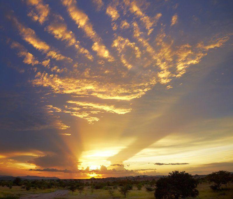 вечер, закат, облака Эпицентрphoto preview