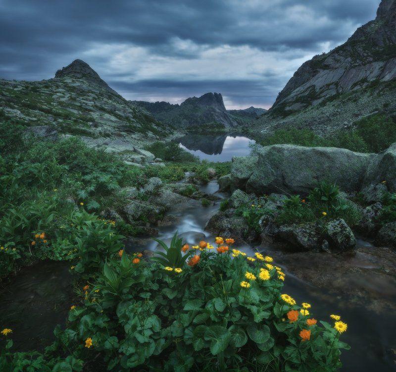 Утро на озере Горных Духовphoto preview