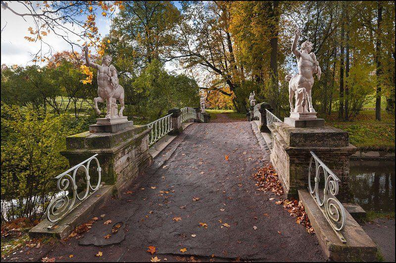 Павловск парк октябрь photo preview