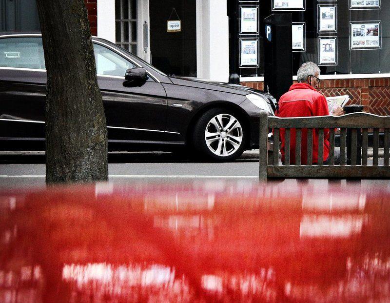 Красные акценты Лондонаphoto preview