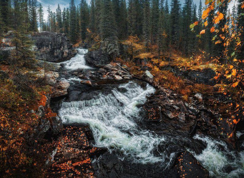 Каскадный водопад Коккольphoto preview