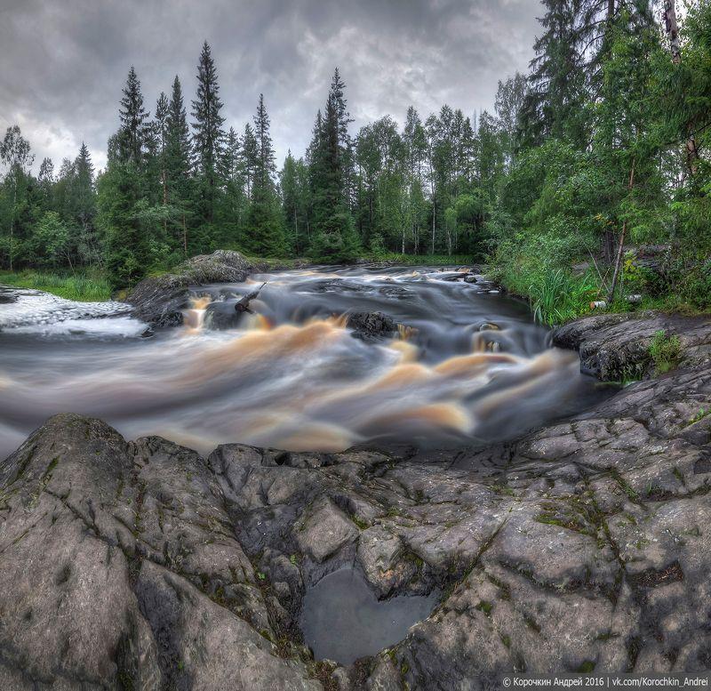 ... водопады Карелии ...photo preview