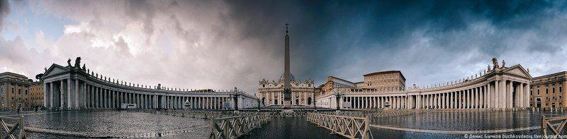 италия, рим, ватикан, панорама ***photo preview