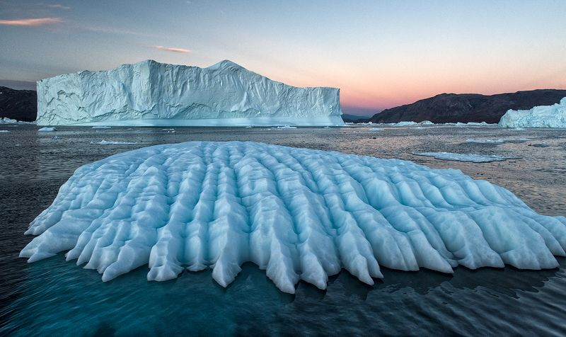 гренландия, арктика, айсберги ***photo preview