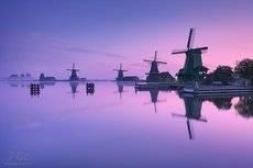 Morning at windmills